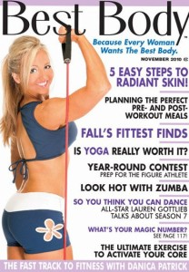 Alli On Cover of Best Body Magazine